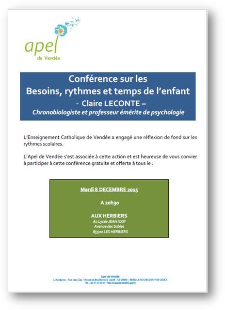 Flyer Conférence Claire Leconte 15-12-08